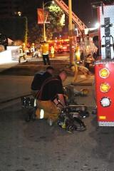 Stubborn Electrical Fire Damages Wilshire Boulevard Apartments