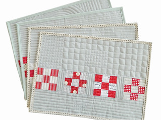 nine patch placemats
