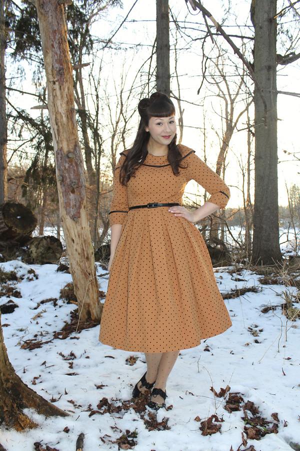 tatyana iced coffee circle dress