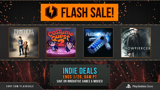 PS Store January Flash Sale