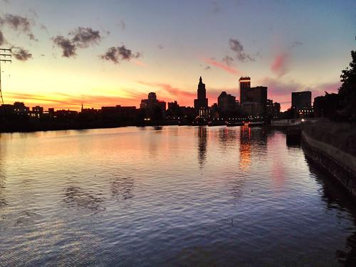 sunset, september by shana, via I {heart} Rhody