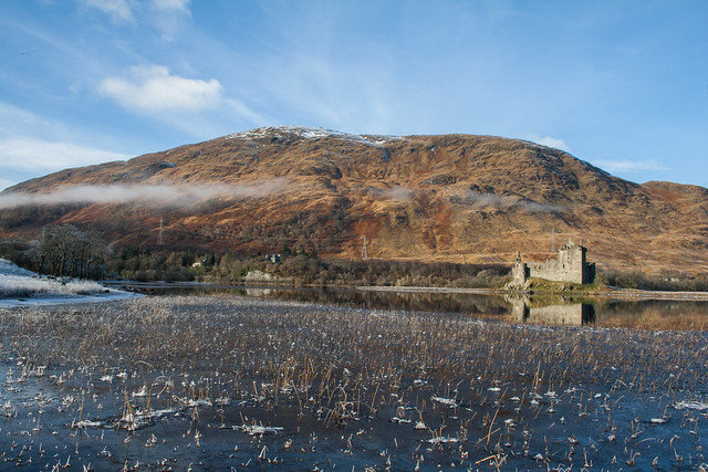 Kilchurn Castle on Lochawe