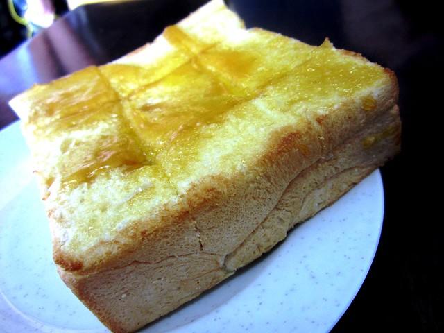 Thick kaya toast