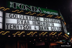 Ryan Hemsworth, Tennyson, Dawn Golden @ The Fonda Theatre (12/05/14)