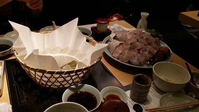 ikebukuro pufferfish full course meal 1 - steamboat 1