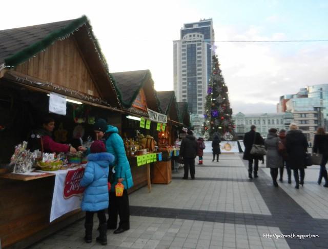 Рождественская ярмарка,Киев