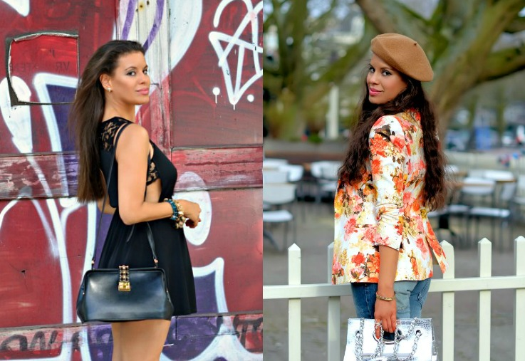 Collage Pose for street style photos