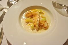 Scallops and Langoustine Potage