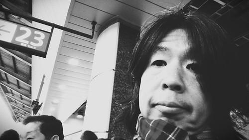 これから新幹線で宇都宮に。