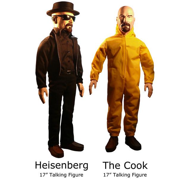 The Wonderland Toy Company【絕命毒師 瓦特.懷特】Walter White Breaking Bad 巨大17 吋發聲人偶