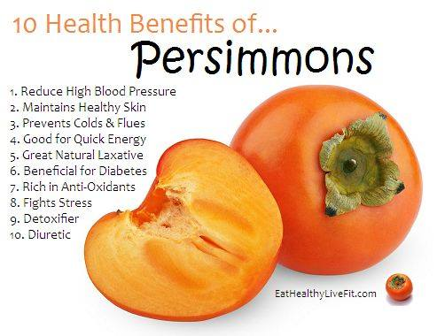 10. Persimmons