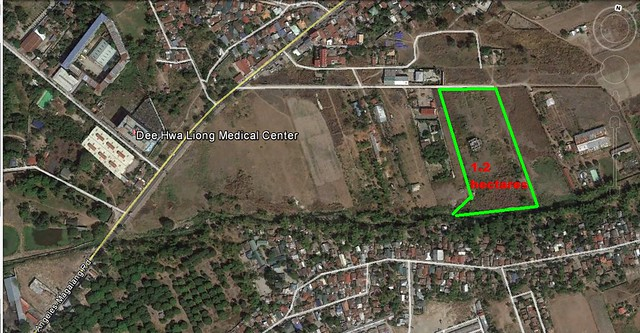1.2hectares Lot for Sale Angeles City Ref# 0000754