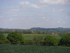 View across the Thame Valley, from near Albury
