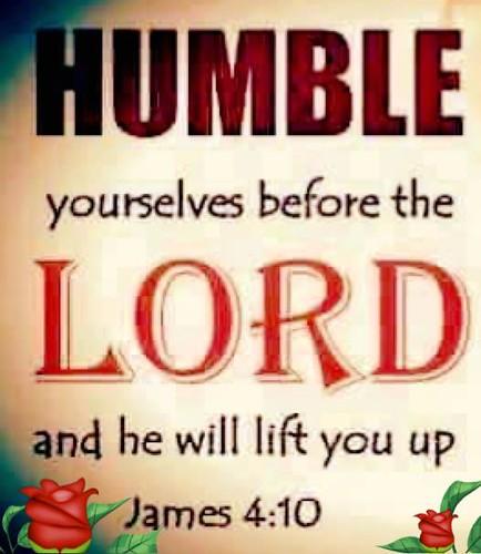 James 4:10