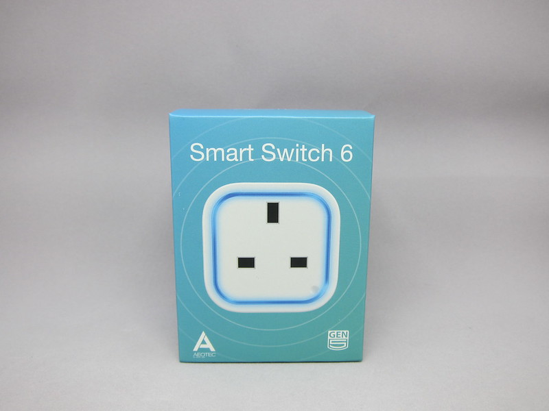 Aeon Labs Aeotec Z-Wave Smart Switch 6 (Gen5) - Box Front