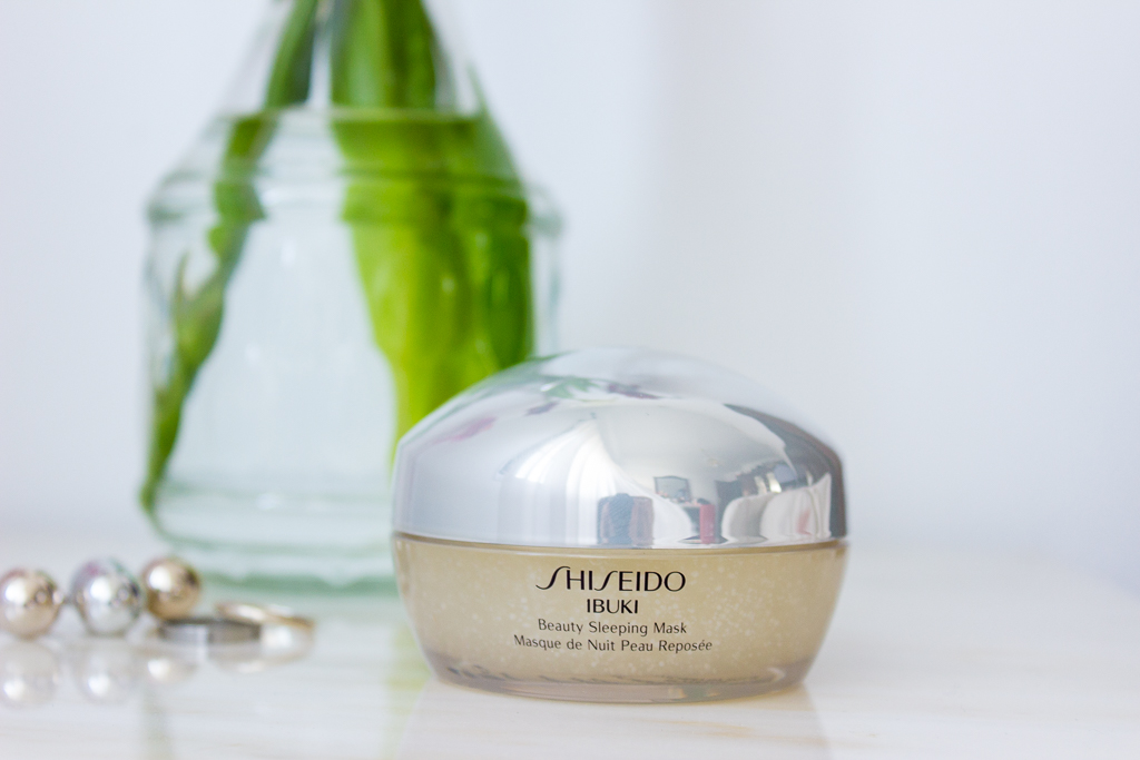 Shiseido Ibuki Sleeping Mask