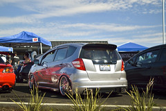automobile, automotive exterior, wheel, vehicle, automotive design, motorsport, subcompact car, city car, compact car, honda fit,
