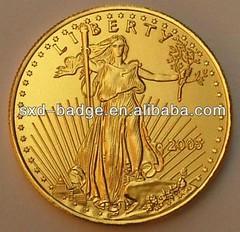 Fake gold eagle obverse