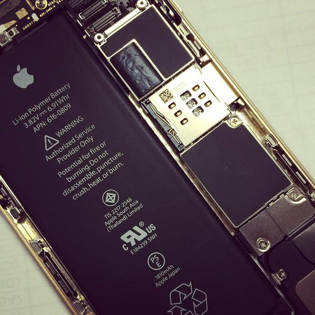 內裝比外觀還正的一支手機。 #iPhone6