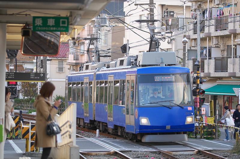 Tokyo Train Story 東急世田谷線 2014年11月23日