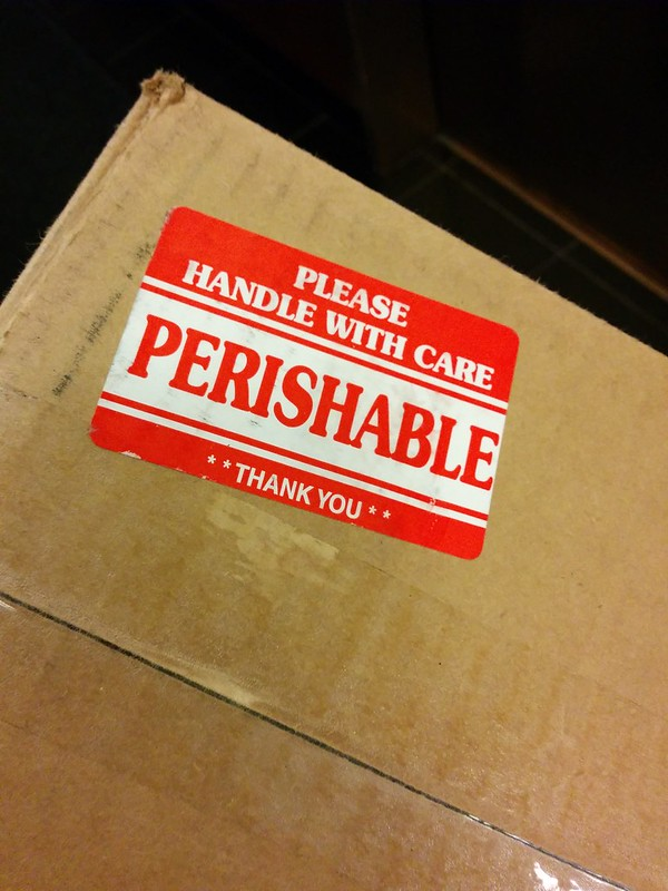 Perishable: Handle with Care