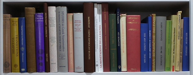 Library of Roman Republican Numismatics and History, Festschrifts, Collected Works, Bibliographies, Corpuses, Minting