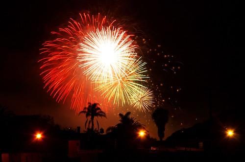 Fireworks, Orotava Valley, Tenerife