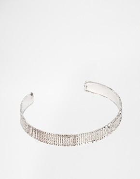 asos ridge open cuff bracelet