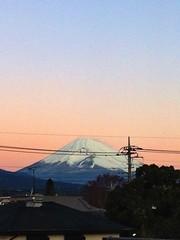 Morning Mt.Fuji 富士山 12/14/2014