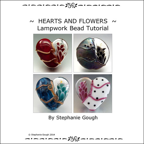 HEARTS AND FLOWERS - A new tutorial YAY!!! - Lampwork Etc.