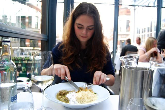Girls Lunch at Roast, Borough Market