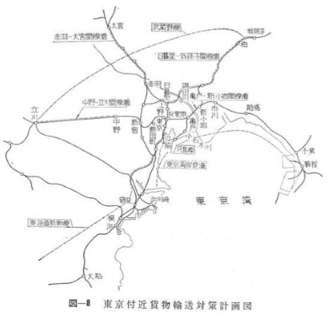 武蔵野線・京葉線計画図