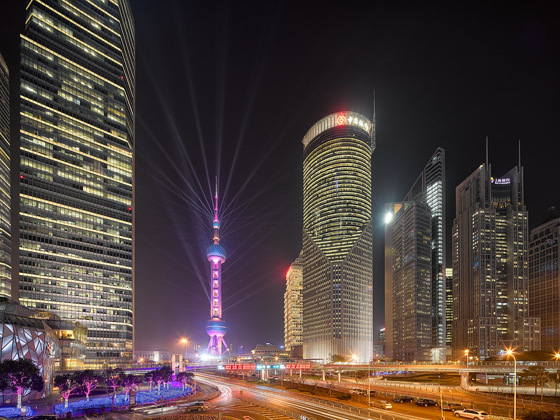 Shanghai Pudong Lights
