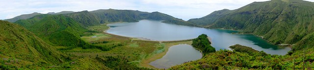 Logoa do Fogo panorama
