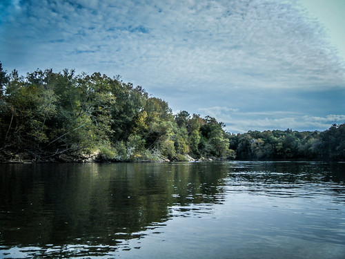 Savannah River from Stokes Bluff with LCU Nov 7, 2014, 4-18 PM Nov 8, 2014, 2-36 PM