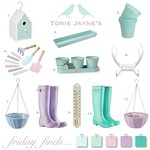 Friday finds... Gardening pastels