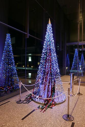 大崎アートヴィレッジ セントラルタワー クリスマスツリー