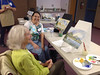 Acrylics for Beginners class at the Bartram Trail Library