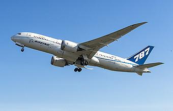Boeing B787 ZA004 ecoDemonstrator (Boeing)