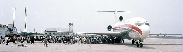 DA NANG - Boeing 727 Evacuation 25 Mar 1975