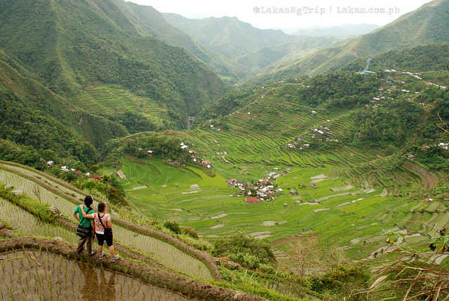 View from Patte at Batad Rice Terraces