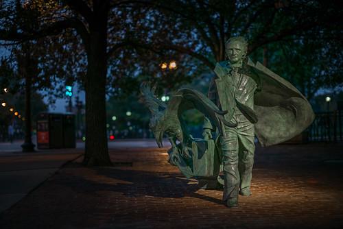 """Poe Returning to Boston"" - L3007227"