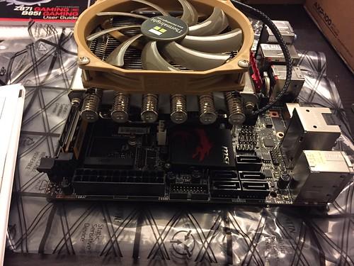 Montage ventirad - fini (côté)
