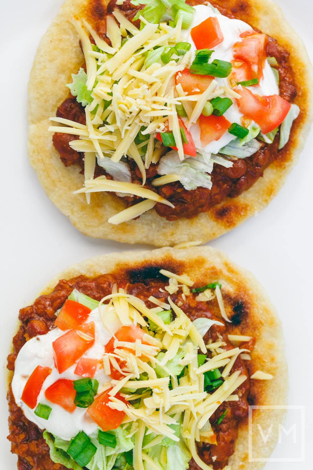 Vegan Indian Tacos with Almost Frybread
