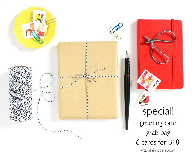 Greeting Card Grab Bag by Vitamini