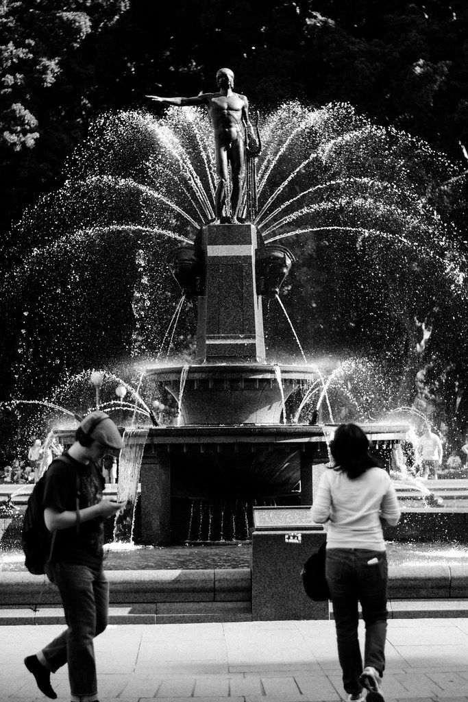 Hyde Park Fountain