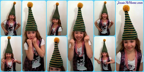 Candy The Elf Hat Free Crochet Pattern Jessie At Home