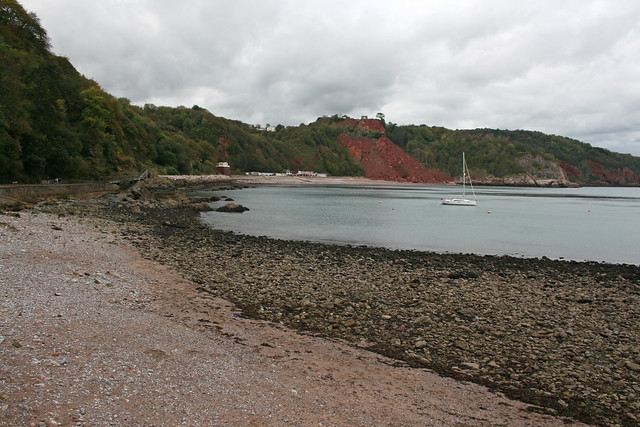 The beach at Babbacombe