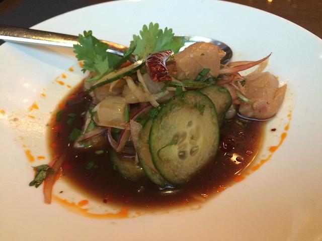 Rockfish aguachile - MXDC Cocina Mexicana