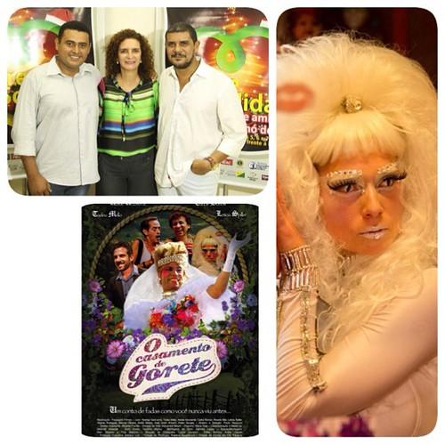 É hoje! Pré-estreia do Filme o Casamento de Gorete em Rio Branco, Acre! A personagem
